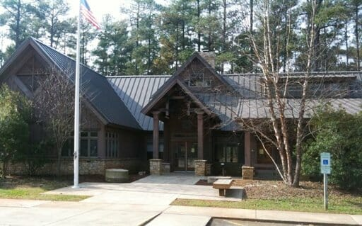 Umstead State Park's Visitor Center was the result of the 1993 State Parks bond package